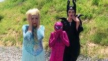 Super Hero Carpool Ride w/Frozen Elsa & Spiderman! Funny Superhero Movie Prank in Real Lif