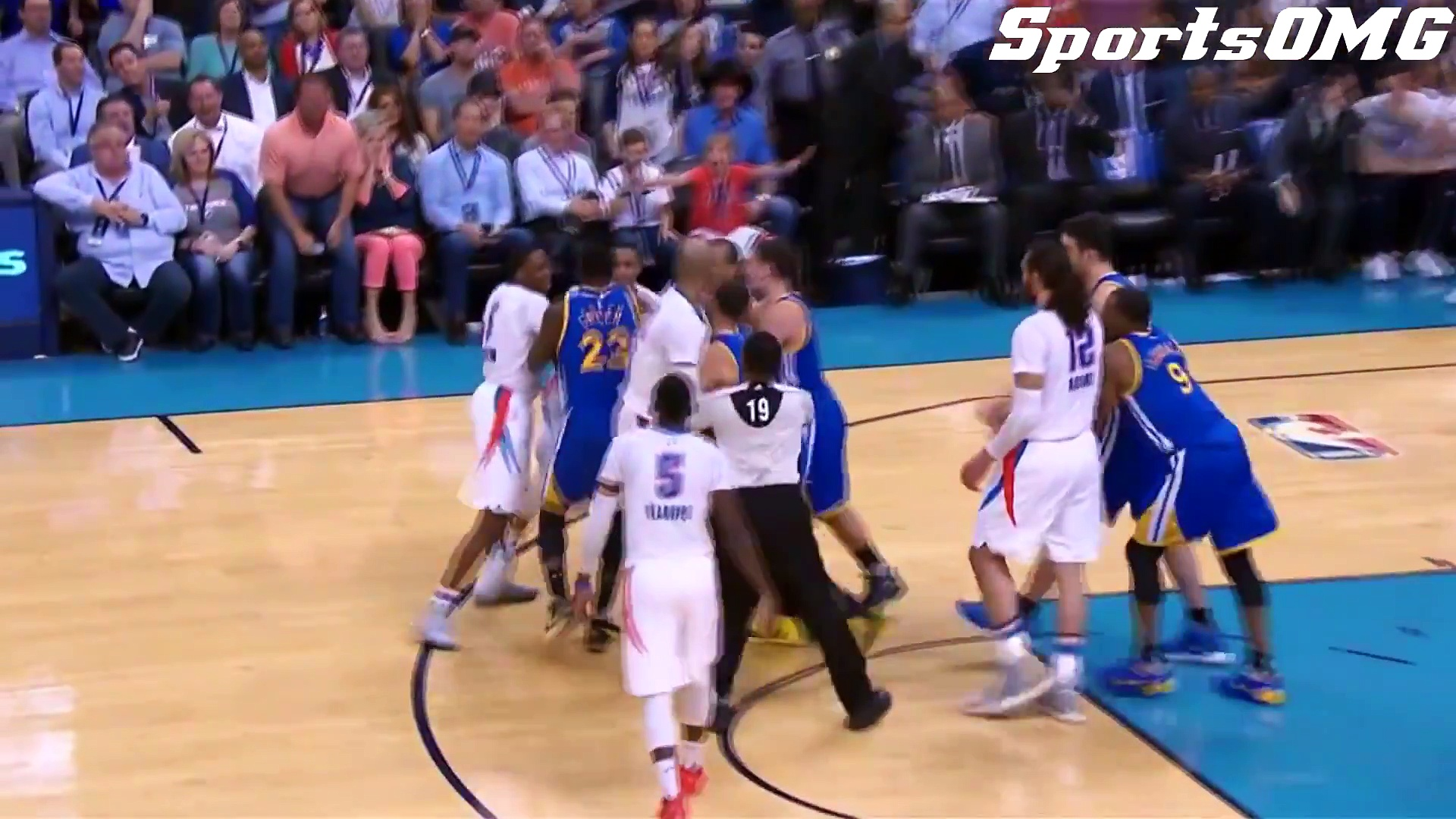 All NBA Fights of 2017