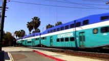 Morning Trains on the Coast - North San Diego County-_FL
