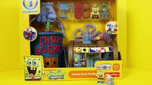 SpongeBob SquarePants Bikini Bottom Imaginext Sponge Bob Pineapple Squidward Tiki DisneyCa