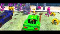 HULK Colors & Disney Pixar Cars Ramone Nursery Rhymes Songs Hulk Playtime HD 2