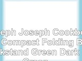 Joseph Joseph Cookbook Compact Folding Bookstand Green  Dark Green