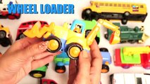 Learning Construction Vehicles Names & Sounds for Kids| Learn Crane, Excavator, Dump Truck