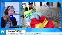 """Mal-logement et précarité : un ancien SDF veut """"détricoter la société française"""""""