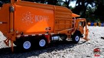 GARBAGE TRUCK Videos For Children l Kids Bruder Garbage Truck To The Rescue! l TOY TRUCK Videos Kids-AR3