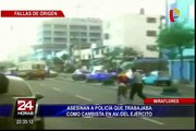 Delincuentes asaltan y asesinan a cambista en Miraflores