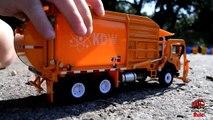 GARBAGE TRUCK Videos For Children l Kids Bruder Garbage Truck To The Rescue! l TOY TRUCK Videos Kids-AR3TMURK