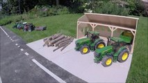 BRUDER RC tractor wood crash-ew8