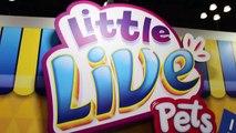 Little Live Pets TOY FAIR 2016 Tweet Talking Bird, Lil Frog, Turtle, Mouse, Snuggles Puppy-aPADY9z