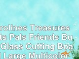 Carolines Treasures Cats Pals Friends Buds Glass Cutting Board Large Multicolor