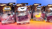 Hot Wheels Batman Cars With Tumbler And Batmobile-D7cb