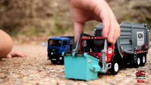 Garbage Truck Videos For Children l 'Let's Go Pick Up The Trash!' l Garbage Trucks Rule-cZ