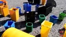 GARBAGE TRUCK Videos For Children l Kids Bruder Garbage Truck To The Rescue! l TOY TRUCK Videos Kids-AR3TMU
