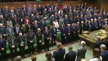House of Commons holds minute silence for terror victims