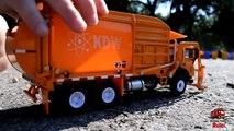 GARBAGE TRUCK Videos For Children l Kids Bruder Garbage Truck To The Rescue! l TOY TRUCK Videos Kids-AR3TMURKU