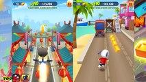 Talking Tom Gold Run Android Gameplay - Talking Tom VS Talking Ginger VS Talking Hank Ep 2