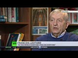 'Bombing easy, negotiations not' – Francois Leotard, fmr French defence minister
