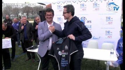 On était à la signature du partenariat entre l'OM et le Burel