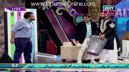 Fight Between Faisal Qureshi and Aadi in a Live Show