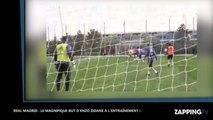 Zinedine Zidane : Son fils Enzo Zidane marque un but d'une bicyclette incroyable (Vidéo)