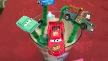 Cars Bouquet of Flowers for Valentines Day Perfect Gift for Disney Cars Fans with Micro D