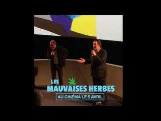 LES MAUVAISES HERBES avant-première UGC Les Halles 21/03