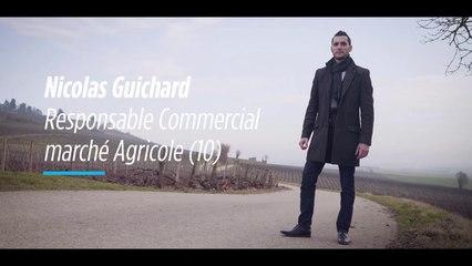 A la rencontre des acteurs du monde agricole : Nicolas Guichard