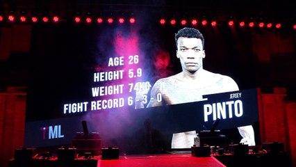 #TML1   Jersey Pinto vs Karl Upton