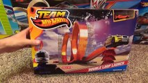 Hot Wheels Double Loop Launch Stunt Set with Launcher and Jump Toy Review-Hhq