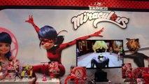 MIRACULOUS LADYBUG & CAT NOIR Dolls & Toys Ladybug Anime Toy Fair 2016 Bandai-rG