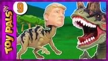 TRUMPOSAURUS Dinosaurs Revenge Jurassic Park World Toys Dinosaur Toy Kids Videos 9-gQunABfJx