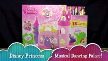DISNEY PRINCESS MUSICAL DANCING PALACE! _ Belle & Cinderella Little People _ Bin's Toy Bin-cHX