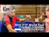 2016 Chile Open Highlights: Sergio Luhr vs Sandro Fuenzalida (Qual)