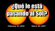 El Sol al mínimo de actividad: La NASA publica imágenes donde las manchas solares han desaparecido