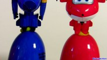 Learn Colors with SUPER WINGS SURPRISE EGGS 출동 슈퍼윙스 ! 디즈니 계란 장난감 서프라이즈 Children Toys-6QxCmiNsl