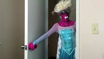 Spiderman vs Frozen Elsa - Nerdy Spiderman Meets Nerdy Elsa! w_ Joker & Batman - Funny Superheroes-iS