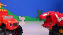 DINOTRUX Toys Ty RUX (Dinosaurs & Trucks) Gets Help from BLAZE AND THE MONSTER MACHINES Toypals.tv-zeDzItn7H