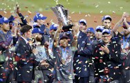 US dominates Puerto Rico for first World Baseball Classic title