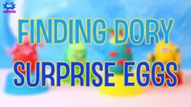 Disney FINDING DORY Play Doh Surprise Eggs Opening Toy Surprises for Kids by ABC Surprises