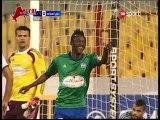 شاهد أحمد الشيخ بمهارة عالمية يصنع الهدف الثاني والتقدم لمصر  المقاصة في الدوري