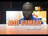 ALLO BOMBAY DU 26 AOUT 2015