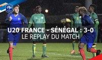 FFFTV Live, jeudi 23 mars à 20h00, Tournoi des 4 nations U20 : France-Sénégal
