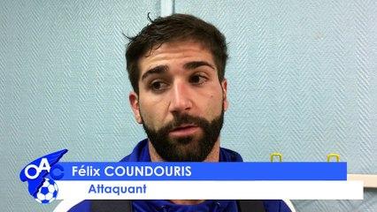 [CFA 2 - 19ème J] OAC - ASF: La réaction de Félix Coundouris
