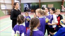 Brest Bretagne Handball en visite à PLOUGUIN le 15 03 2017