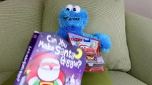 Cookie Monster Disney Mickey Mouse Video Jumping DisneyCarToys and TheEngineeringFamily *|
