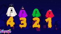 Play Doh 123 Stop Motion | Play Doh Halloween Stop Motion Numbers | 123 Song | Halloween S