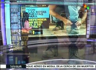 Maradona pide a ecuatorianos votar por Lenín Moreno