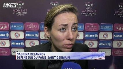 Ligue des champions féminine – Sabrina Delannoy : ''Pas un mauvais résultat''