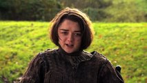 Game Of Thrones: Roast Joffrey - Maisie Williams Impersonates Joffrey (hbo)