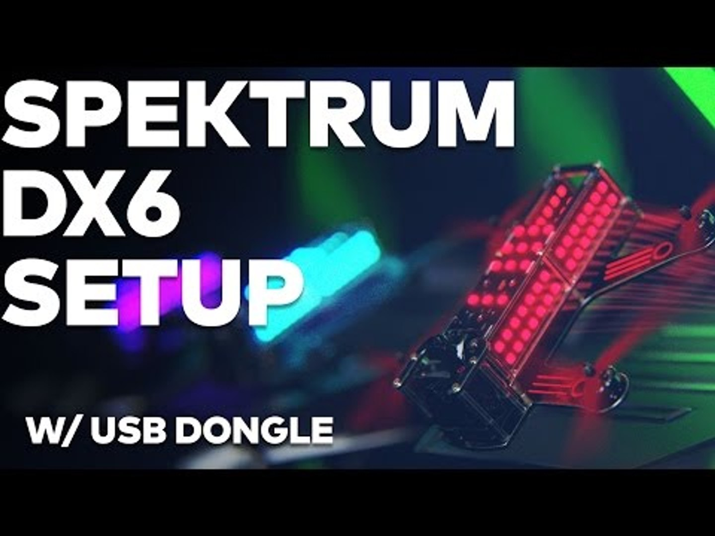 How to set up your Spektrum DX6 | Drone Racing League FPV Simulator